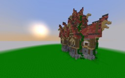 The Werthouse mansion - Medieval Minecraft Map & Project