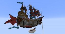 Fantasy Ship Minecraft Map & Project