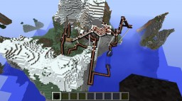 Black mamba rollercoaster Minecraft Map & Project