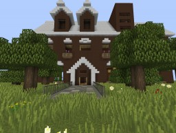 New & Modern House lux2 Minecraft Map & Project