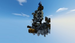 MY FIRST FLYING SHIP ^°^ | FREE SHEMATIC DOWNLOAD =3 Minecraft Map & Project