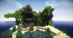 Overgrown Pirate Island Minecraft