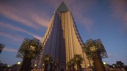 Diamond Tower Minecraft Map & Project