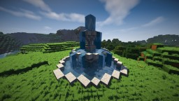 Modern Eco Village | Fountain 1 | Tutorial Minecraft Project