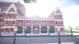 Amsterdam Firestation (WoK) Minecraft Map & Project