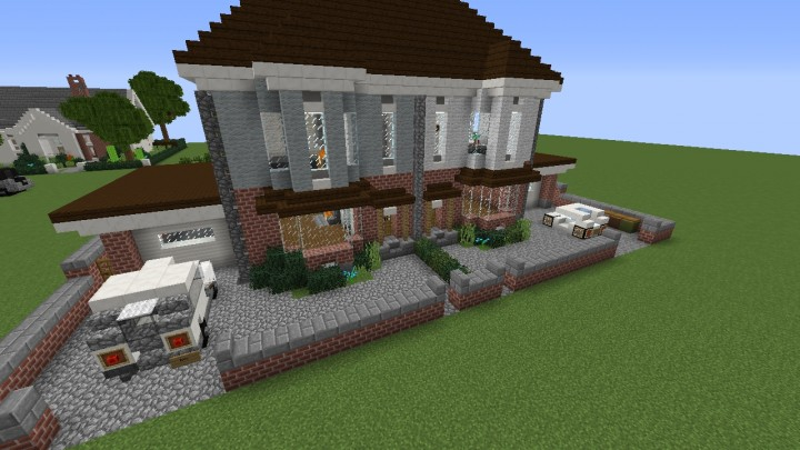 My modern house by keralis minecraft project for Modern house 5 keralis