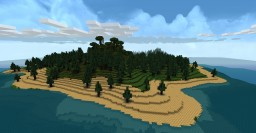 Generic Island Minecraft Map & Project