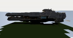 Strident Class Heavy Frigate Minecraft Map & Project
