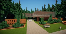 "Modern house ""Pines"" 2nd post Minecraft Map & Project"