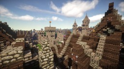 Hyrdinn- Main Port of Wendsyl [Download no Longer Available] Minecraft Map & Project
