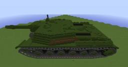 SU-152 Russian tank Minecraft Map & Project