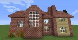 Brick House Minecraft Map & Project