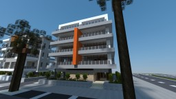 Modern Apartment Building #4 Minecraft Map & Project