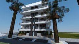 Modern Apartment Building #6 Minecraft Map & Project
