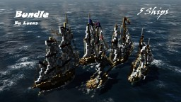 Bundle 5 Ships - By Lucas - ShipSide DOWNLOAD Minecraft Map & Project