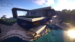 Eden |  Eco Resort Concept Minecraft Map & Project