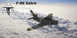 F-86 Sabre [5:1] Minecraft Map & Project