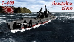 Japanese Submarine: I-400 Minecraft Map & Project