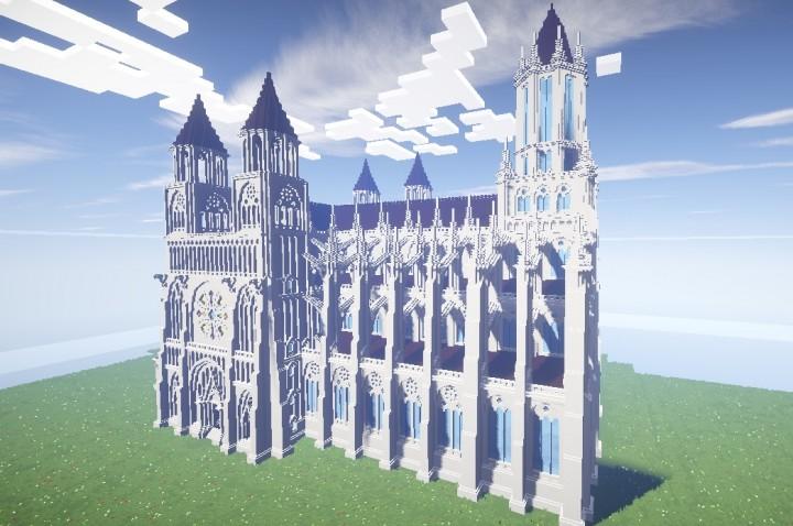 Gothic Church 3 Minecraft Map
