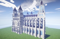 Gothic Church 3 Minecraft