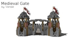 Veriael's | Medieval Gate / Castle Gate [Download] Minecraft