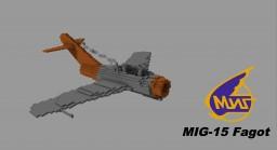 MiG-15 Fagot [Scale 5:1] Minecraft