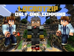 Logdotzip Only One Command Minecraft Map & Project