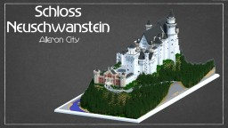 Schloss Neuschwanstein in Alleron City Minecraft Project