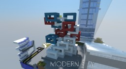 Modern Stay Apartment Minecraft Map & Project