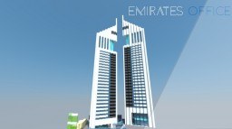 Emirates office skyscraper Minecraft