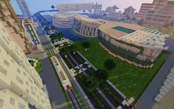 National stadium - west view