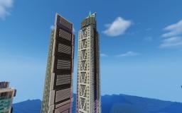 Dubai Millennium Tower Minecraft Map & Project