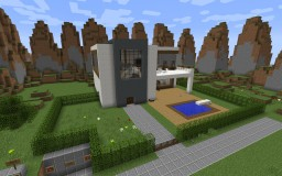 Modern Redstone House 20+ Redstone Creations Minecraft Map & Project