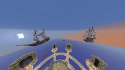 Ships in Flight Minecraft Map & Project