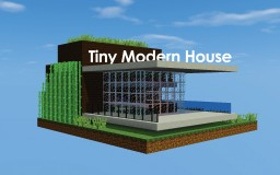 Tiny Modern House | DOWNLOAD Minecraft Map & Project