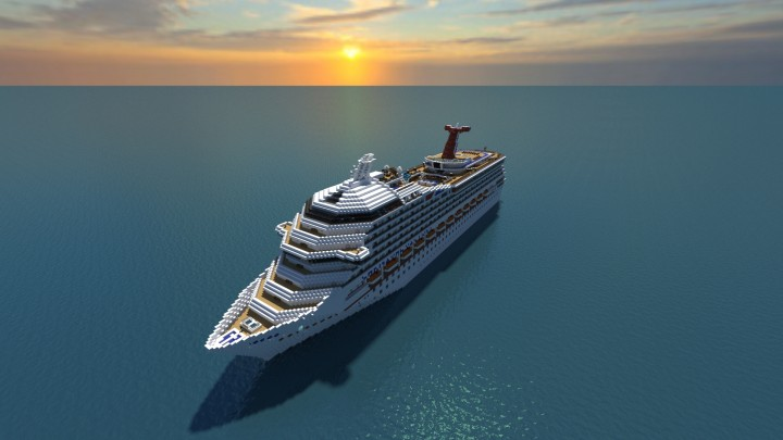 Carnival Victory Cruise Ship [Full Interior] {1:1 Scale