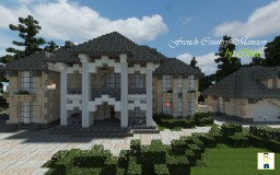 French Country Mansion Minecraft Map & Project