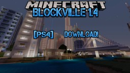 Minecraft Ps4: Blockville City 1.4 [Ps4] Minecraft Map & Project