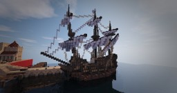 Some Ships / Boats - #WeAreConquest Minecraft Map & Project