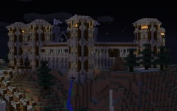 Hilltop keep Minecraft Map & Project