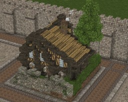 Medieval House Plot Build[16x16] Minecraft Project