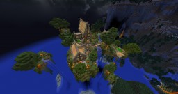A Town on Floating Islands! Minecraft Map & Project