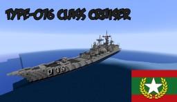 Type-076 Class Cruiser Minecraft Map & Project