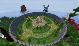 Hub / Spawn 4 Portals Minecraft Map & Project