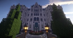 Sanacraft Forgeheart Admin Mansion Minecraft Map & Project