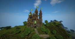 Medieval Castle + download Minecraft