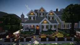 Traditional Suburban House | WOK Minecraft Map & Project