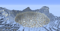 Jumpdown Snow Minecraft Map & Project