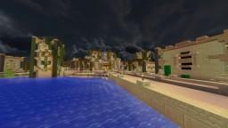 A Desert Town on an Island! Minecraft Map & Project
