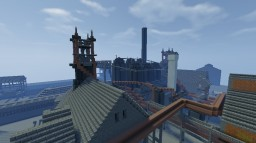 Pre-WWII Blast Furnaces (Design #1, Carrie 6+7 Based) Minecraft Project